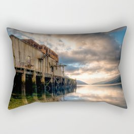 Loch Long Torpedo Testing Station Rectangular Pillow