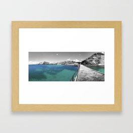 the thinking room Framed Art Print