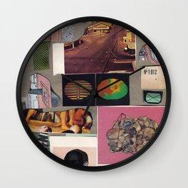 May Part Wall Clock