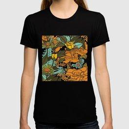 retro garden T-shirt