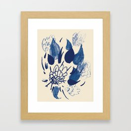 you said - you would always bring me flowers Framed Art Print
