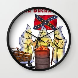 The Fuu Buckx Clan Wall Clock