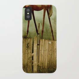 The Painted Horse iPhone Case