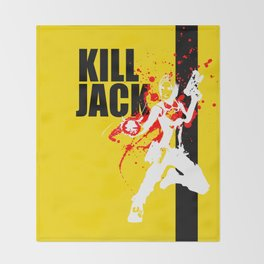 KILL JACK - SIREN Throw Blanket