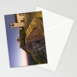 Marvao at dusk Stationery Cards