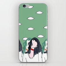 eyes never lie iPhone & iPod Skin