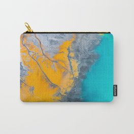Abstract of minerals Carry-All Pouch