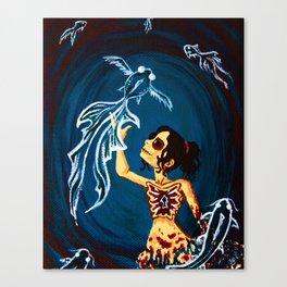 Serene Madness Canvas Print