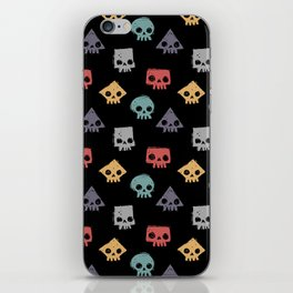 Skull Shapes iPhone Skin