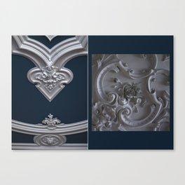 Blue ceiling Canvas Print