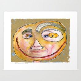 I feel loved Art Print