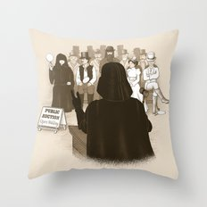 What is Thy Bidding? Throw Pillow