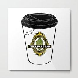 You Know My Coffee Order, Blaine? Metal Print