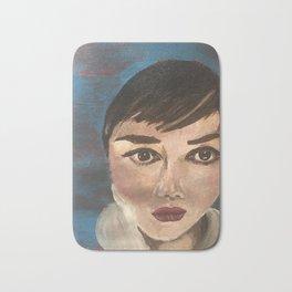 4/100 100 Faces project Bath Mat