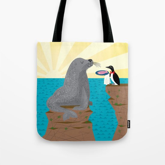 Sealed With A Fish Tote Bag