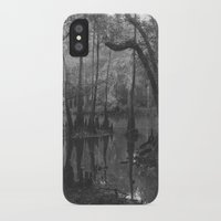 florida iPhone & iPod Cases featuring Florida Swamp by Kevin Russ