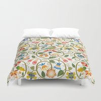 sia Duvet Covers featuring Spring by BellagioVista