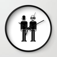 daft punk Wall Clocks featuring Daft Punk by Band Land