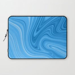 Blue Marbled Agate Laptop Sleeve