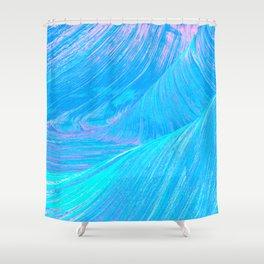 Pastel Swirls Shower Curtain