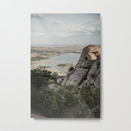 At The Top Metal Print