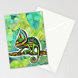 Chamaleon Pattern Stationery Cards