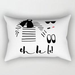 Oh la la! Rectangular Pillow