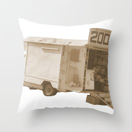 van2000  Throw Pillow