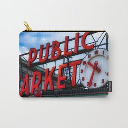 The Heart of Seattle  Carry-All Pouch