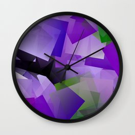 Field of lavender ... Wall Clock