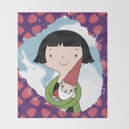 Help People not Gnomes Throw Blanket