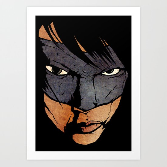 Brother Hazard Art Print