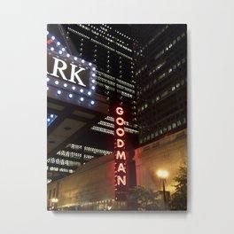 Goodman Theatre Metal Print