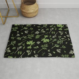 Dill and parsley Rug