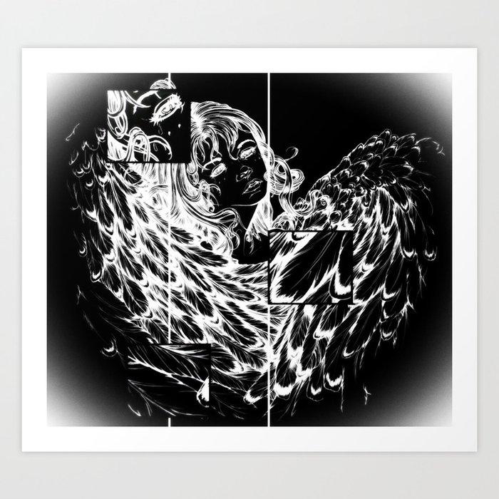 NV: Nakai's Wings Art Print