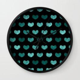 Cute Hearts VII Wall Clock