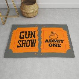 Ticket to the Gun Show Rug