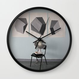 Stones on the Wall Wall Clock