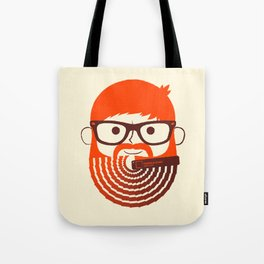 The Gradient Beard Tote Bag