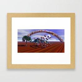Implementation Framed Art Print