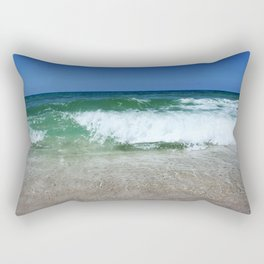 An Ocean Wave Break Rectangular Pillow