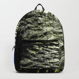 Golden Eagle Head Backpack