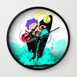 Tje Jet Pack Wall Clock