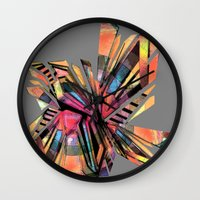 vodka Wall Clocks featuring vodka by Urban Artist