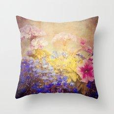 Small Garden Throw Pillow