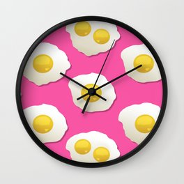 FOREVER Eggs Wall Clock