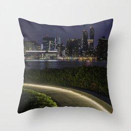 Midtown Manhattan skyline Throw Pillow