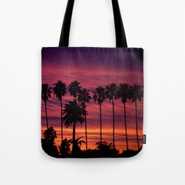 Sunset over Hollywood Tote Bag