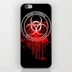 Zombie Outbreak First Response Team iPhone & iPod Skin