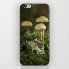 Pixie and 'shrooms iPhone Skin